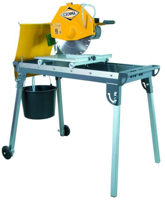 CEDIMA Tischsäge CTS-56 Trennsäge klappbar Steintrennsäge Tischkreissäge Säge