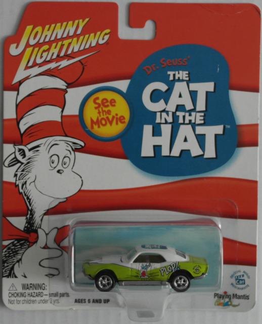 "Johnny Lightning - Custom Camaro ""The Cat in the Hat"" Neu/OVP"