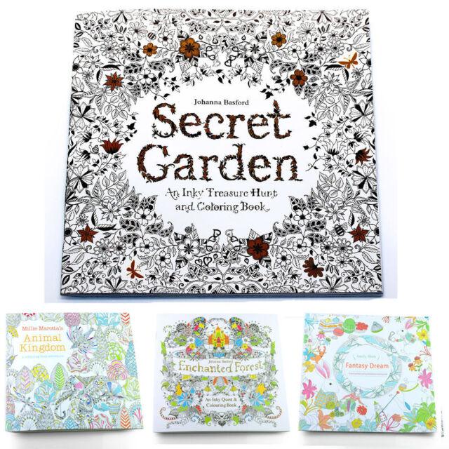 Practical Adult Children Secret Garden An Inky Treasure Hunt