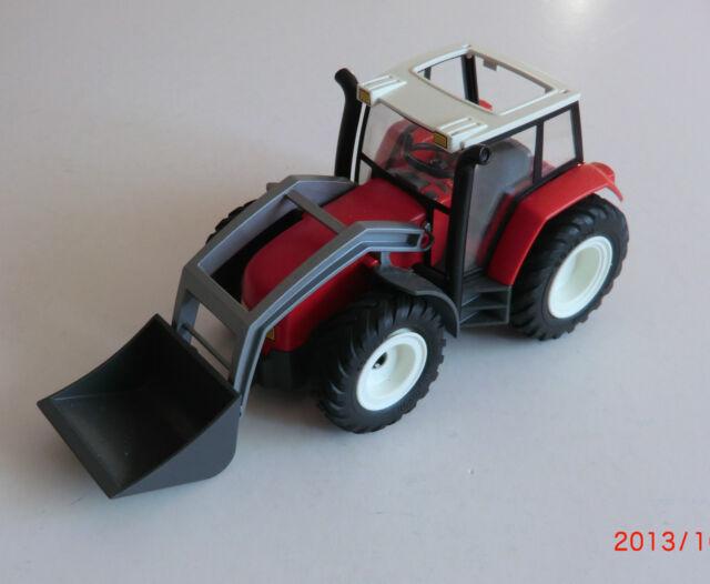 playmobil 4496 roter traktor mit anh nger ebay. Black Bedroom Furniture Sets. Home Design Ideas