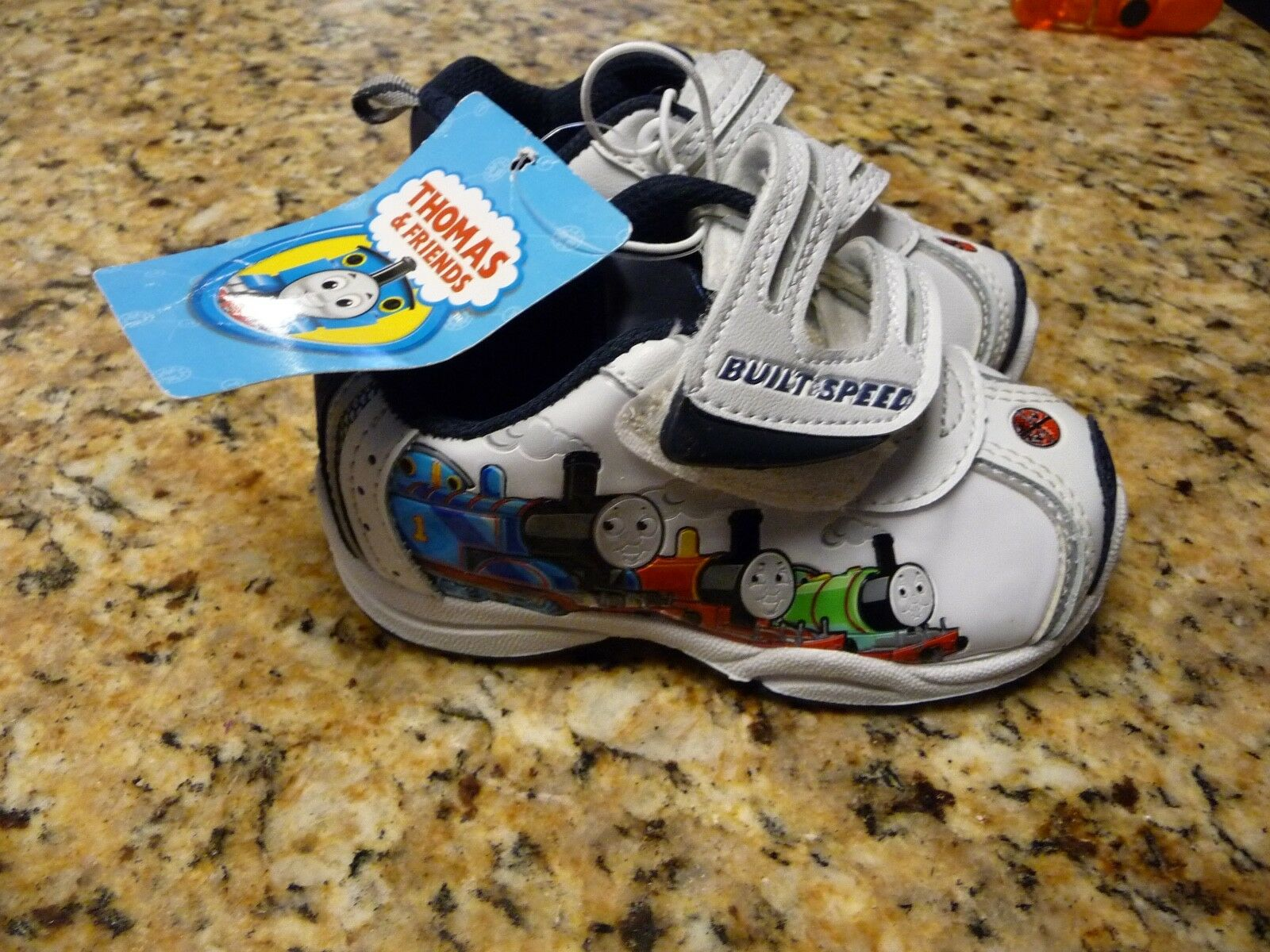 Thomas & Friends Infant Size 5 Baby Shoes Boy Girl SNEAKERS The