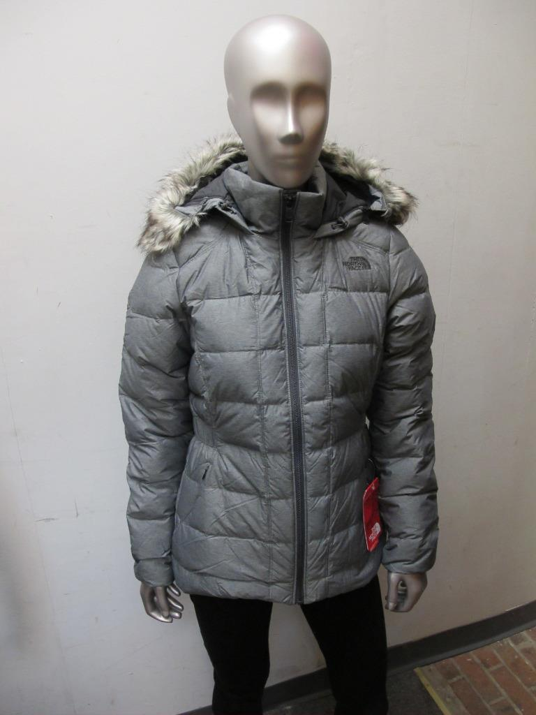 ... inexpensive north face gotham womens cx66 dyy medium grey insulated  goose down d6675 2c261 7fc62ff1b