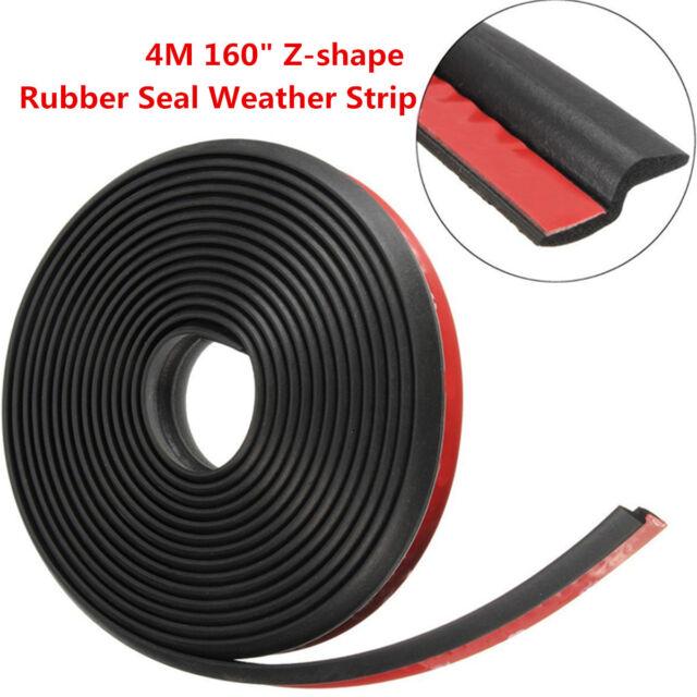 4m 160 Z Shape Car Window Door Rubber Seal Weather Strip Hollow Weatherstrip Ebay