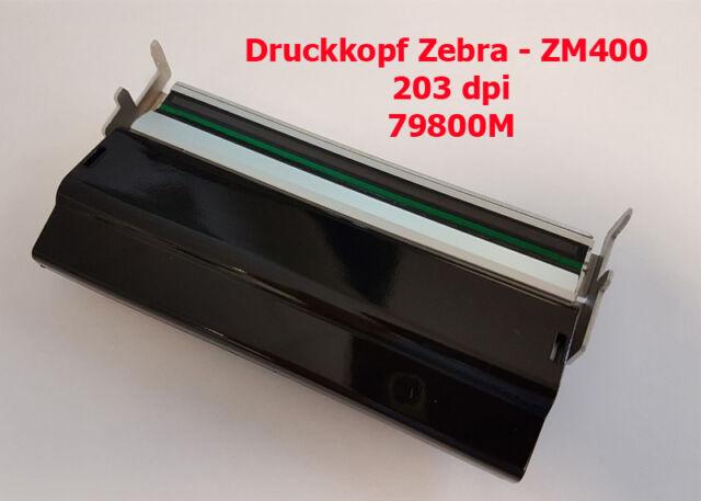 Zebra ZM400 Druckkopf - Thermoleiste -  ( 203 dpi ) - Art.Nr. 79800M  *NEU*