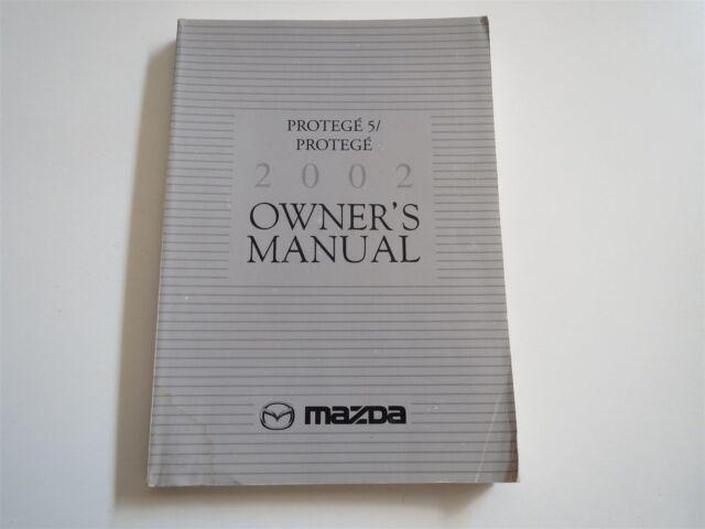 2002 mazda protege protege 5 owners manual ebay rh ebay com 2002 Mazda Protege 5 Parts 2002 Mazda Protege 5 Yellow