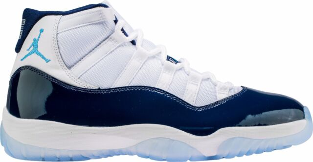 navy blue retro jordan 11 shoes