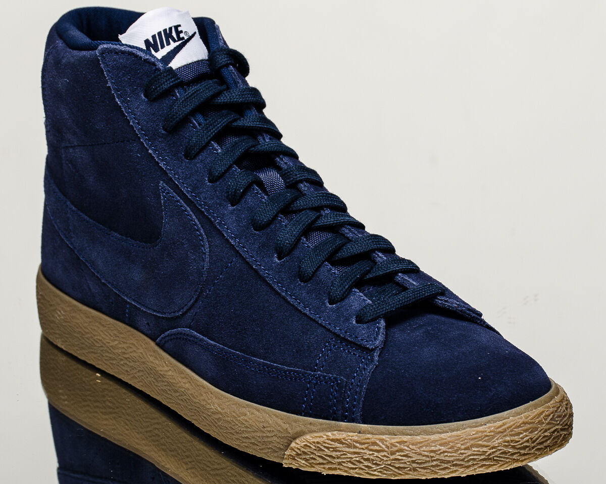 Nike Blazer Mid Premium mens lifestyle sneakers NEW binary blue 429988-403