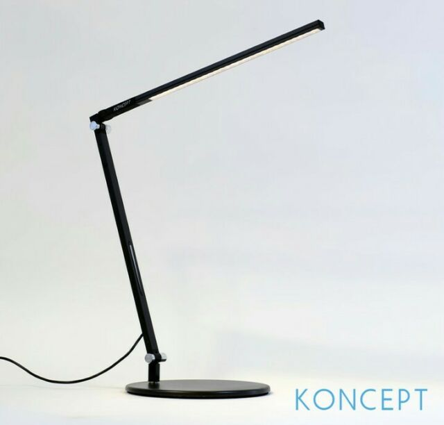 Koncept AR1000 W MBK DSK Z Bar Solo LED Desk Lamp,