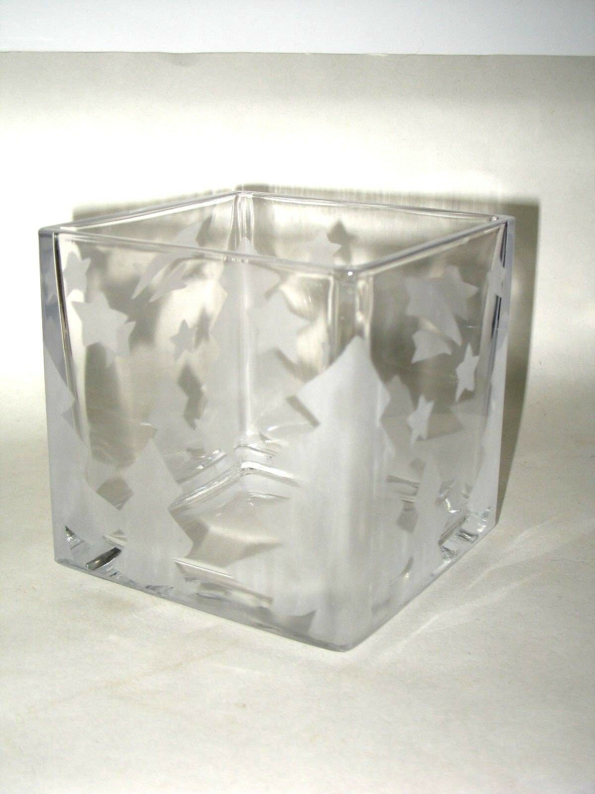Winter frost candle holder glass block mikasa studio nova trees 5 reviewsmspy