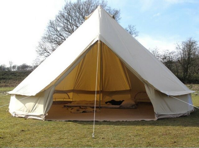 Picture 5 of 5 & Dream House 4m Bell Tent Outdoor Glamping Canvas Camping Sibley ...