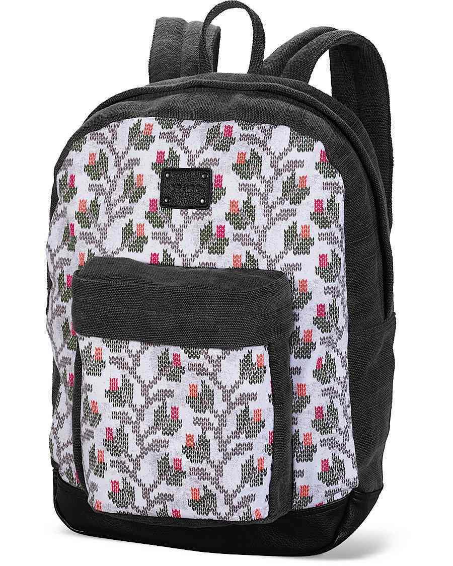 Dakine Darby 25l Canvas Backpack Knit Floral Natural 8210008-kfn ...