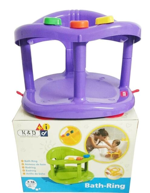 Keter Infant Baby Bath Tub Ring Safety Seat Anti Slip Chair ...