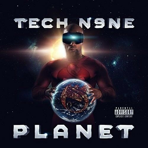 Tech N9ne - Planet [New CD] Explicit, Deluxe Edition