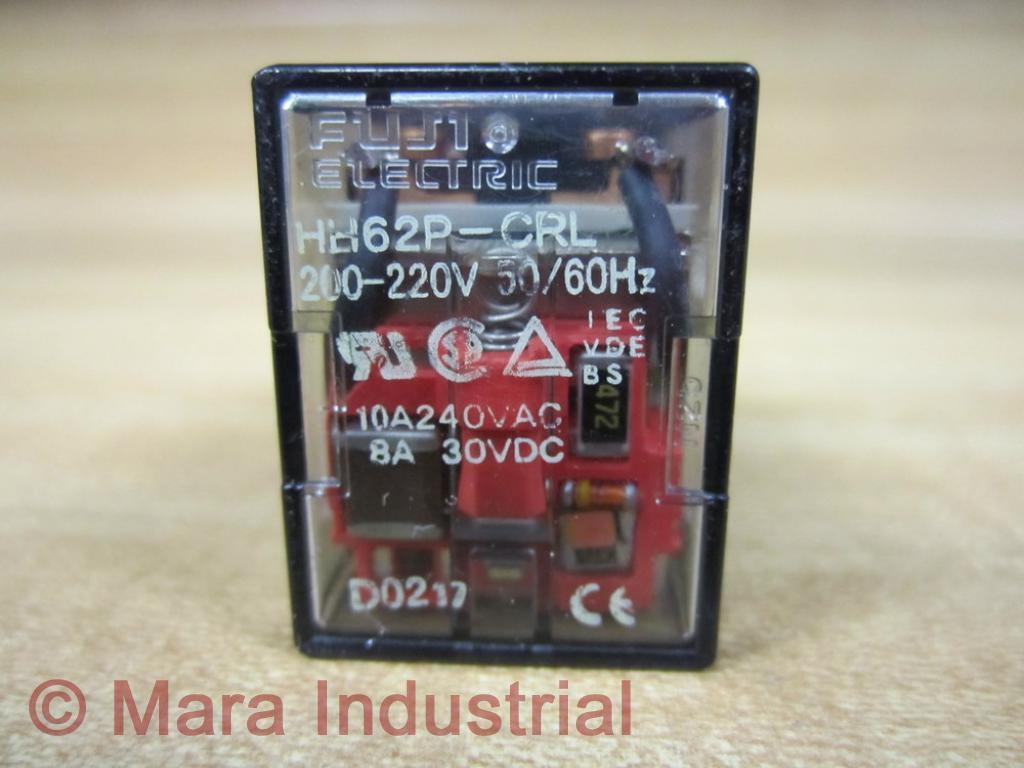 Fuji Hh62pcrl Electric Power Relay 200230v 30vdc eBay