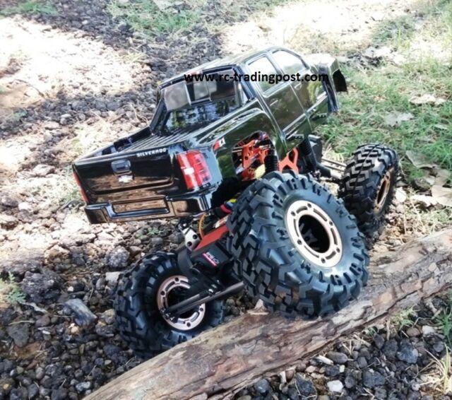 Rock Crawlers 4x4 : Silverado custom painted rc rock crawler