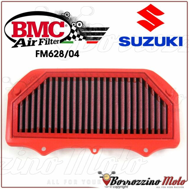 AIR FILTER PERFORMANCE WASHABLE BMC FM628/04 SUZUKI GSX-R 600 750 2011-2015
