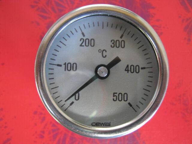 EINSCHRAUBTHERMOMETER, OFENTHERMOMETER 500°C, BACKOFENTHERMOMETER, THERMOMETER