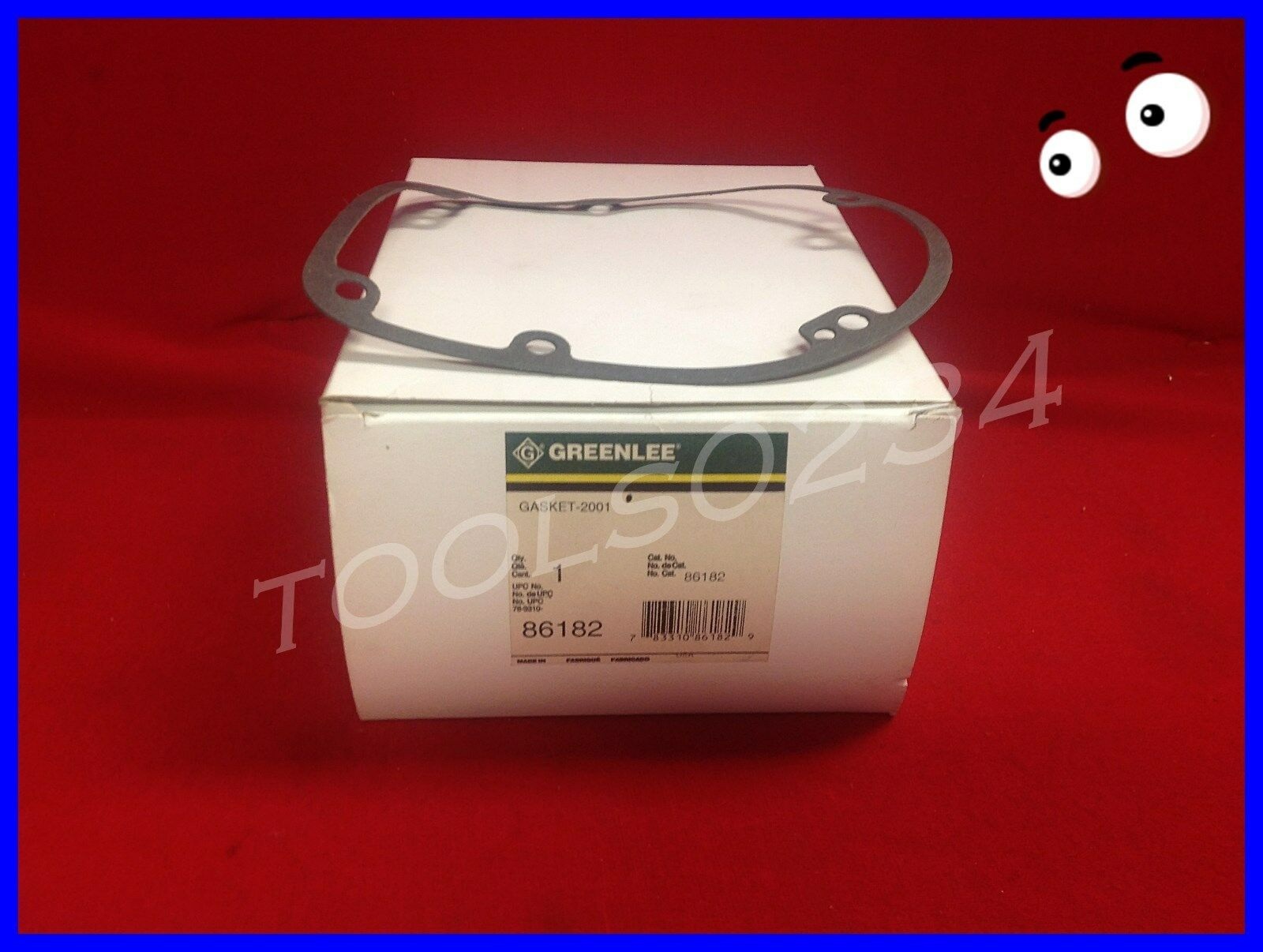 Greenlee 86182 Gasket 2001 for 6001 Tugger Cable Puller USA Made ...