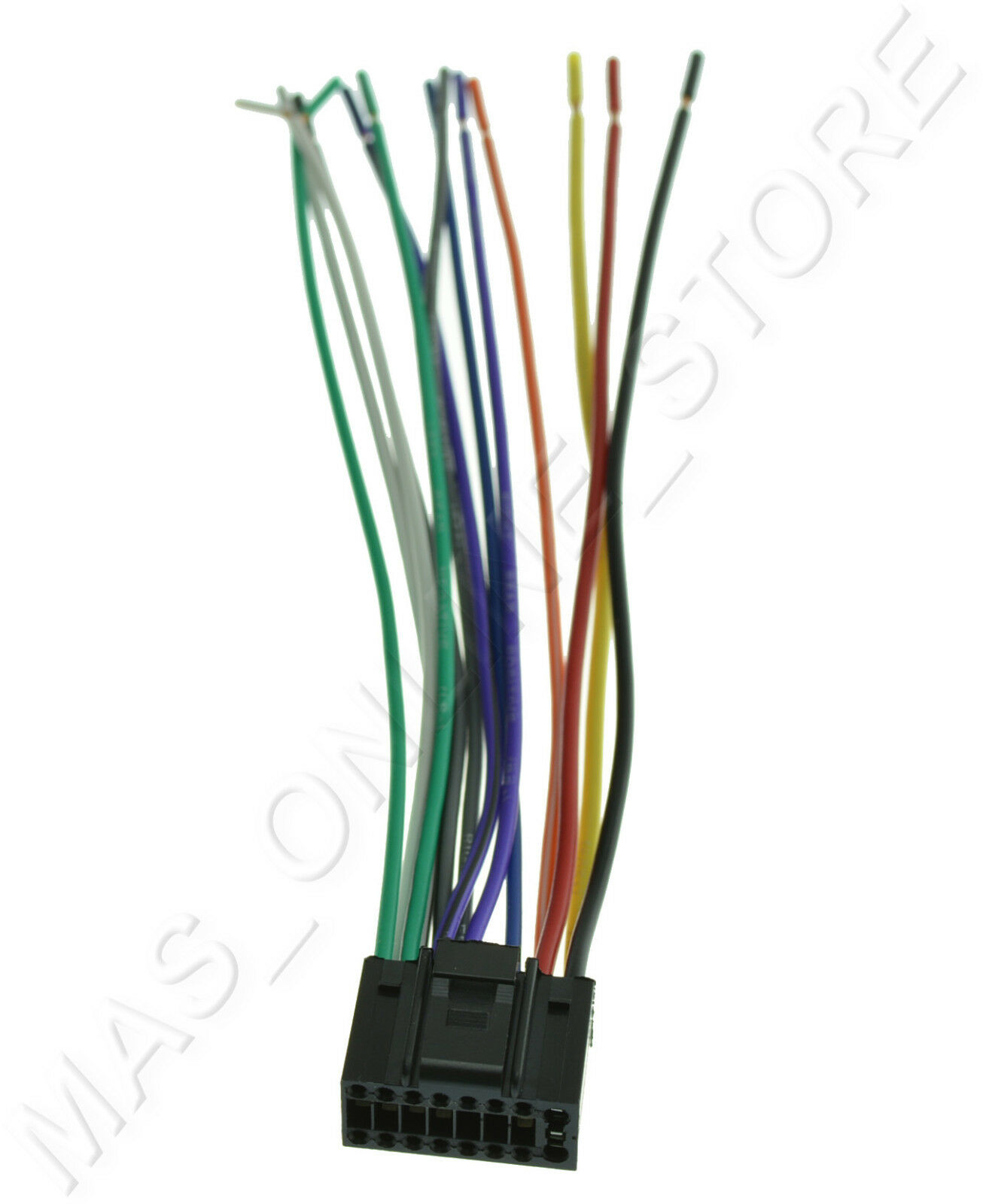 s l1600 wire harness for jvc kd s27 kds27 *pay today ships today* ebay jvc kd-s27 wiring harness at readyjetset.co