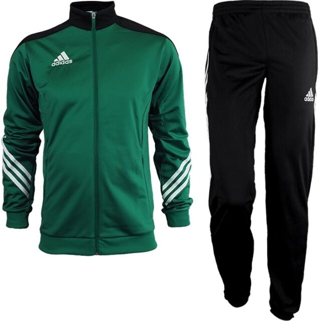 adidas tracksuit green and white l d. Black Bedroom Furniture Sets. Home Design Ideas