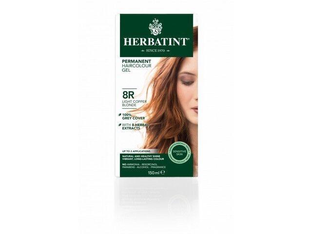Herbatint 8R Light Copper Blonde Ammonia Free Hair Colour 150ml