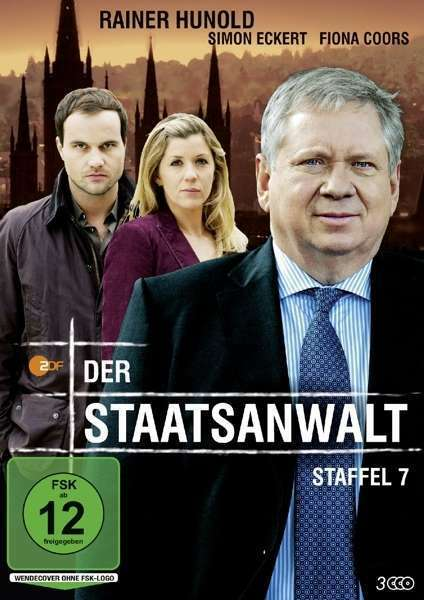 Der Staatsanwalt - 7 Staffel - Rainer Hunold - Simon Eckert - 3 DVD Box