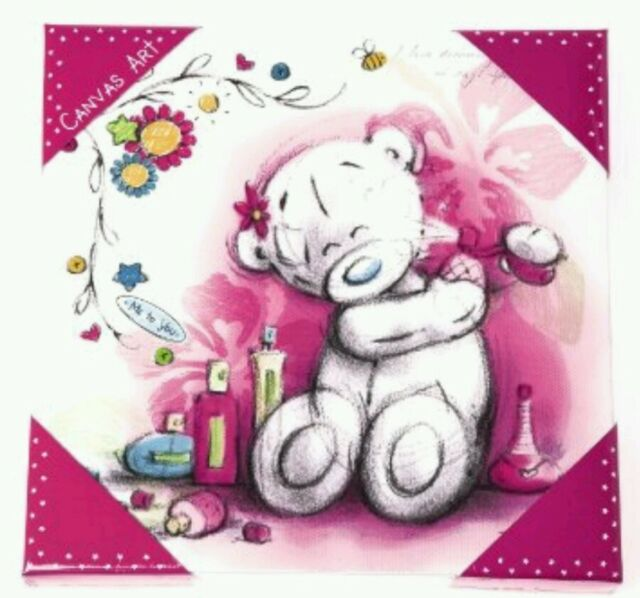 Carte blanche greetings g91q0075 me to you 9 x 9 in tatty teddy me to you tatty teddy 9 medium canvas print buy one get m4hsunfo