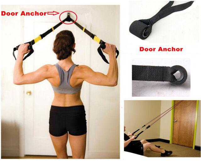 New Resistance Exercise Bands - Advanced Door Anchor Black  sc 1 st  eBay & Resistance Exercise Bands - Advanced Door Anchor Black   eBay