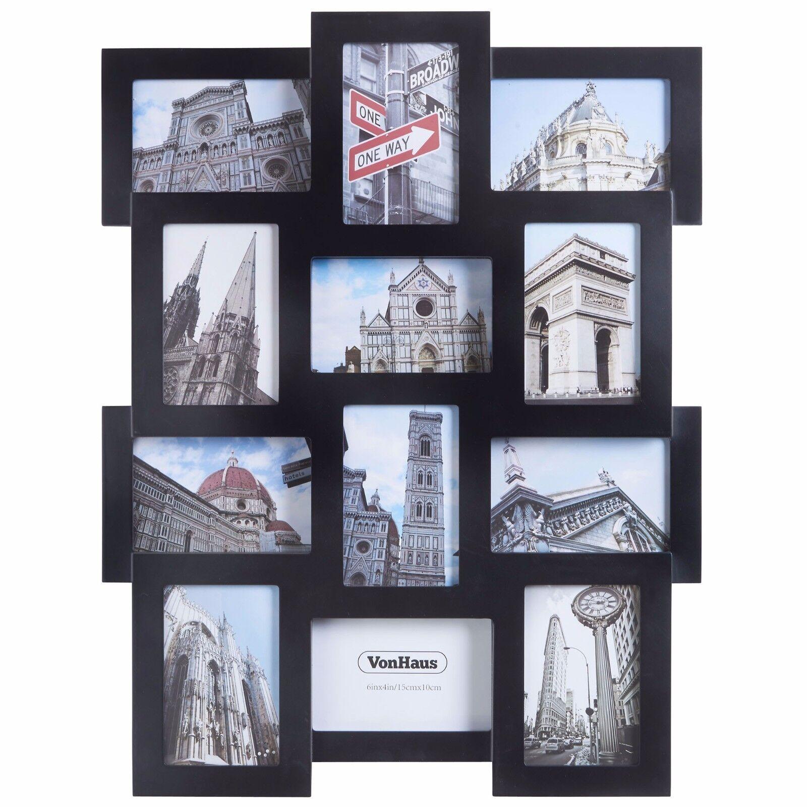 Vonhaus 12 x decorative collage picture frames for multiple 4x6 picture 1 of 4 jeuxipadfo Images