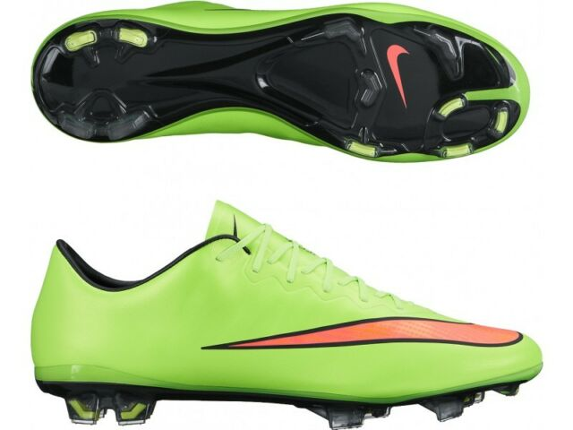 Nike Mercurial Vapor X Firm Ground Cleats 648553-360 Soccer Shoe $200 Retail