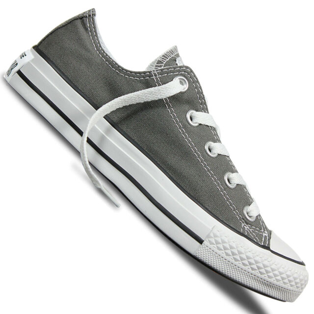 Converse ALL STAR CT SEASNL OX Chucks Scarpe Grigio 1j794 1j794c Charcoal Chuck