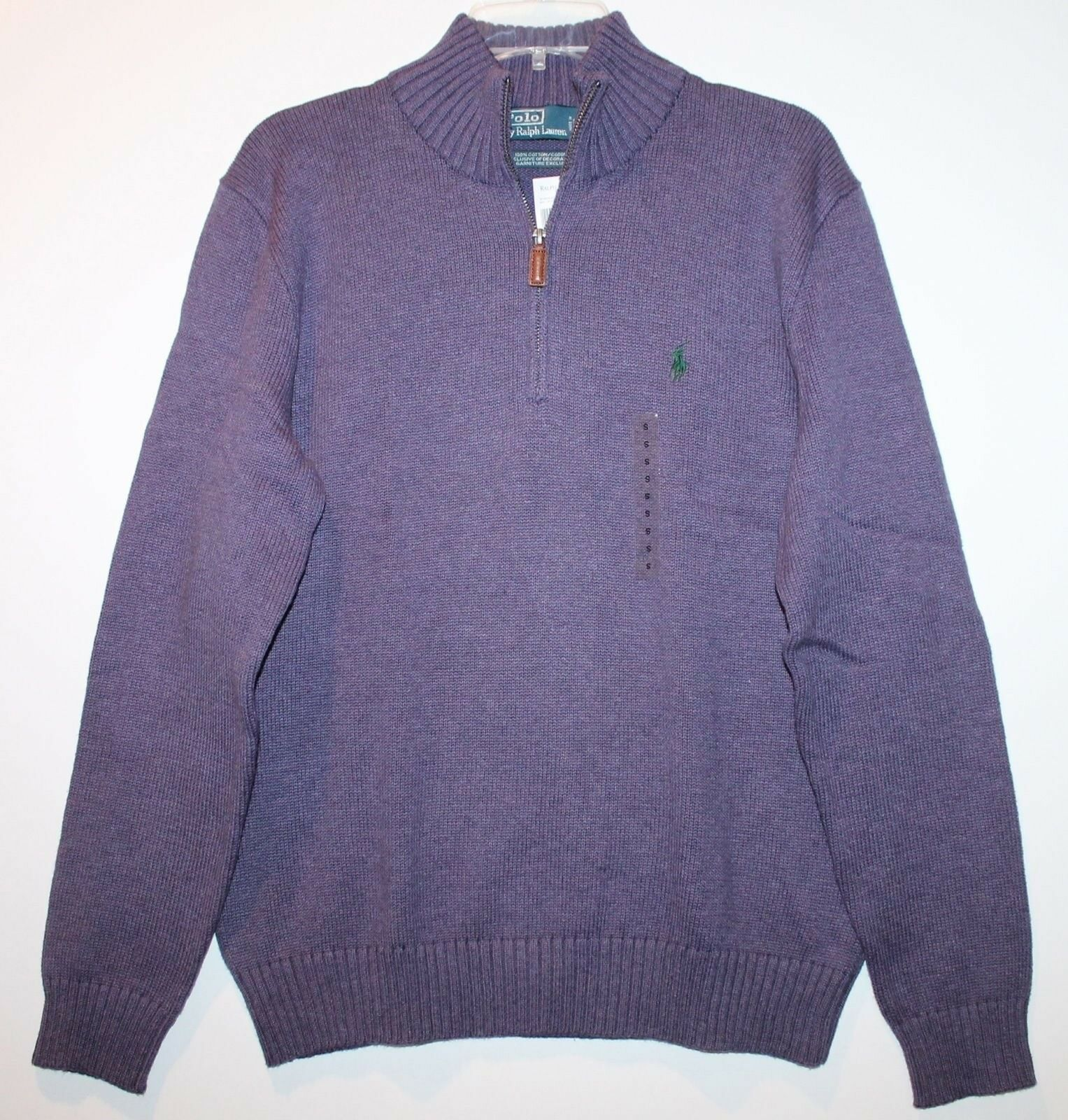 Polo Ralph Lauren Mens Juneberry 1/2 Zip Mock Collar Cotton ...