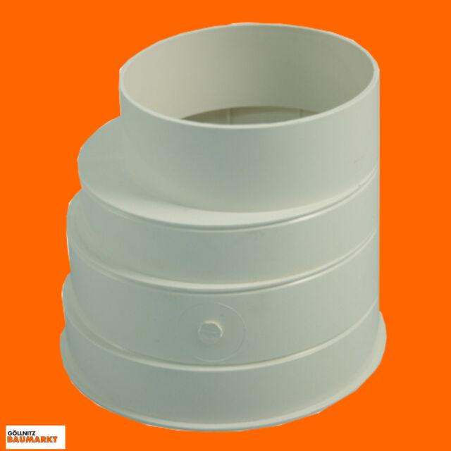 Marley Reduktion 125 / 100 mm Kanalrohre HT - Rohre Übergangsrohr Verbindung Neu