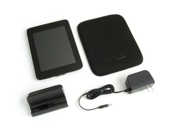 "Velocity Micro T301 Android Cruz E-Reader Tablet PC 7"" LCD Bonus Sleeve in Box"