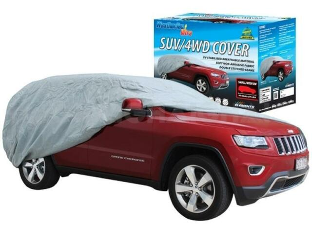 Car Cover Suits Large 4WD SUV to 5.1m WeatherTec Ultra UV Weather CC36