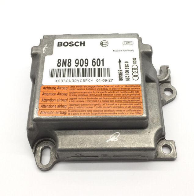 Audi TT 8N Airbag Steuergerät 8N8909601 Bosch 0285001279, 12 Monate Garantie