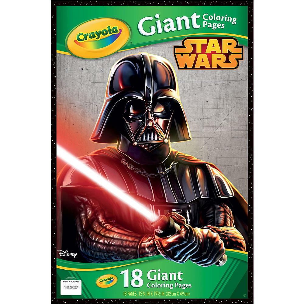 Crayola Star Wars Giant Coloring Pages Model 22619775 | eBay