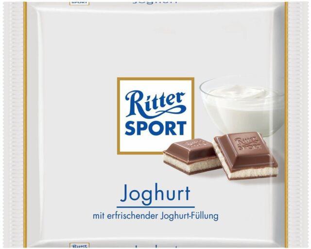 (100g=1,00€) Ritter Sport Joghurt - Schokolade - 100 Gramm