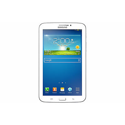 Samsung Galaxy Tab 3 SM-T211 16GB, Wi-Fi + 3G, 7in - White Tablet