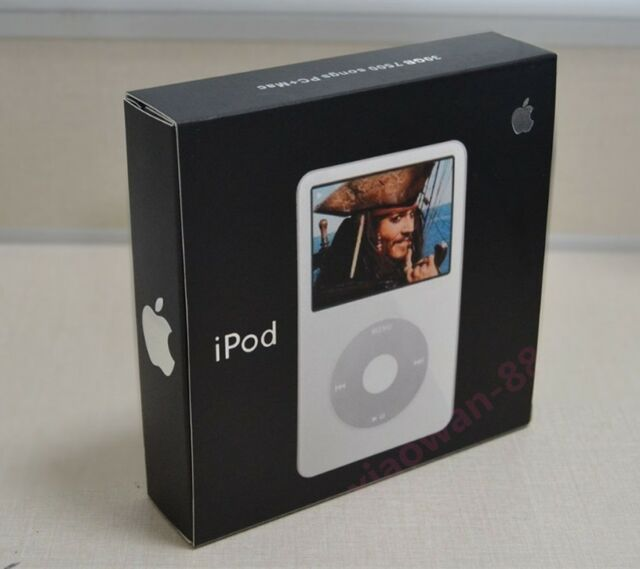 Apple iPod Video 80GB 5th 5.5th Generation MP3/MP4 White - Retail Box Hurry Up!!