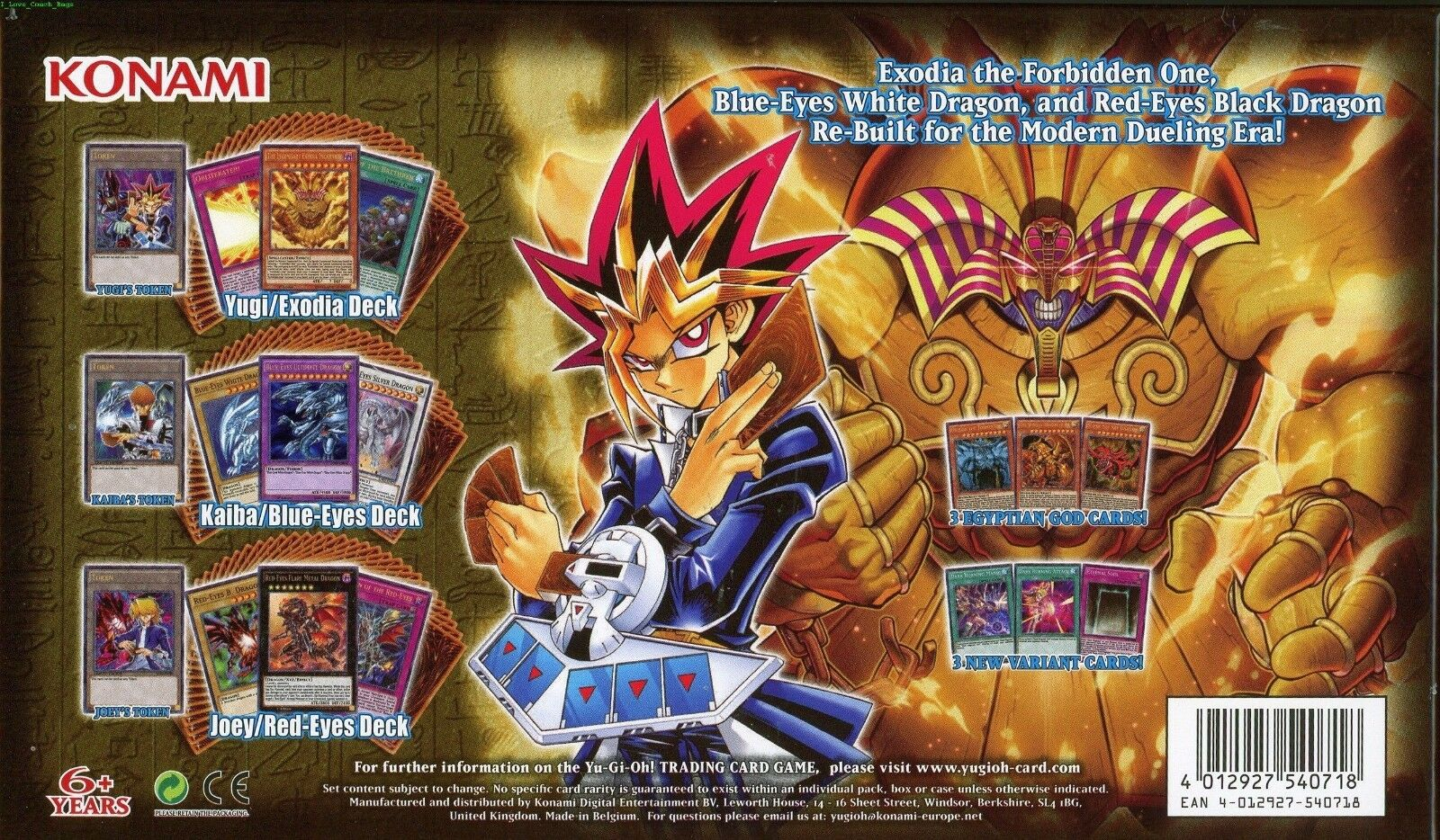 konami yu gi oh king of games yugi s legendary decks ebay