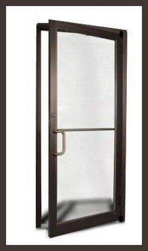 $res.content.global.inflow.inflowcomponent.technicalissues & Commercial Aluminum Storefront Door Frame Dark Bronze Finish   eBay