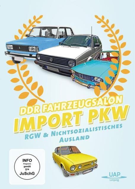 DDR Fahrzeugsalon Import-PKW des RGW, 1 DVD DVD