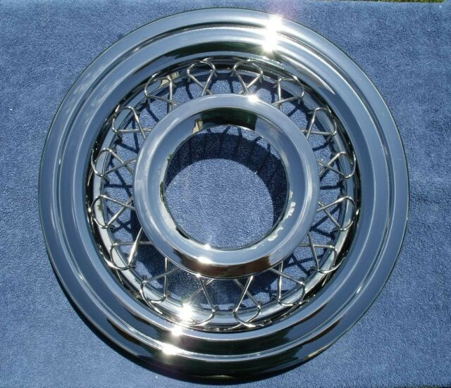 56 Chevy Wire Wheel Covers 1956 Chevrolet   eBay