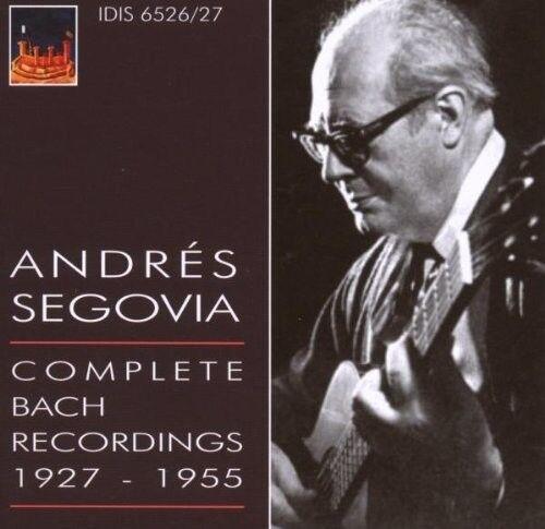 J.S. Bach / Segovia - Comp Bach [New CD]