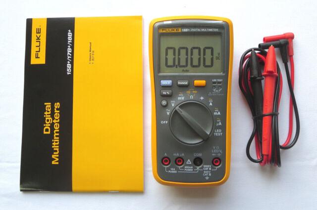 AU Ship FLUKE Digital Multimeter 18B+ =15B+ +LED tester Brand New
