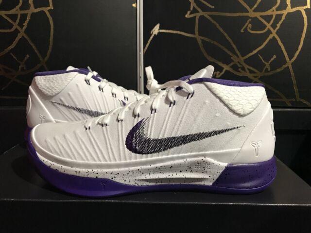 Nike Kobe AD 922482-100 White/Court Purple Lakers Mamba Men's Shoes Men