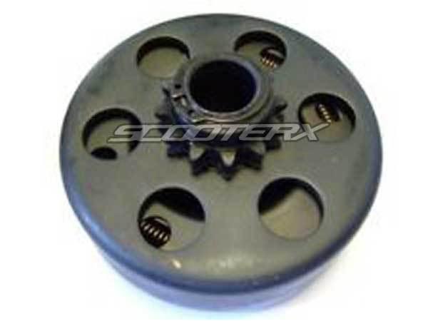 Mini Bike Clutch Housing 35 Chain 3 4 Bore 12 Tooth Sprocket Gear