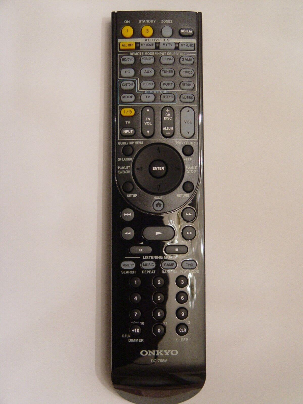 onkyo rc 768m remote control part 24140768 ebay