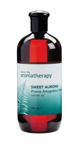 Sweet Almond Carrier Oil Aromatherapy Essential 500ml by Nature's Way